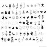Set de lettres CELEBRATIONS pour Lightbox
