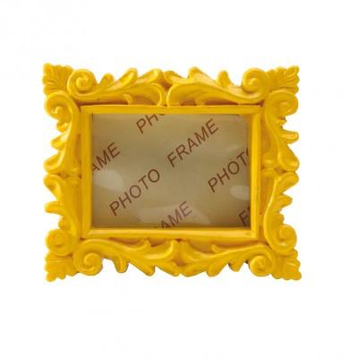 cadre baroque jaune