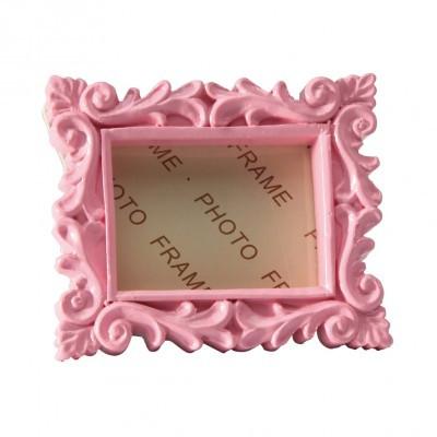 cadre baroque rose