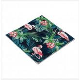 Serviettes Tropicales 33x33 cm (x 12 Pcs)