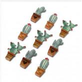cactus sur stickers x 9
