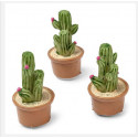 Déco Cactus sur adhesifs HT 3 cm (x12)