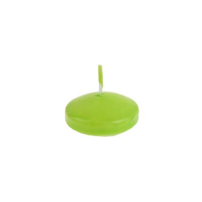 Bougies flottantes (x4) Vert anis