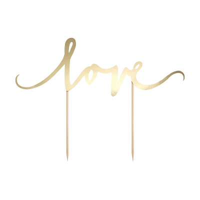 Cake Topper Love Or