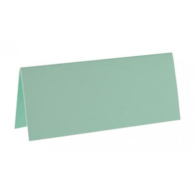 10 marque-places unis de couleur menthe