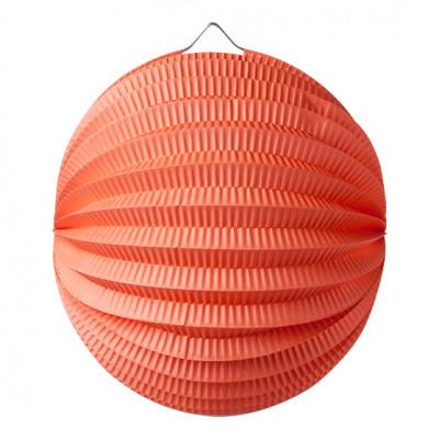 Lampion Boule Corail 20 Cm