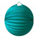 Lampion Boule Emeraude 20 Cm