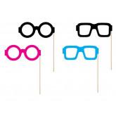 Kit photobooth 4 lunettes pour enfants