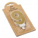 Bougie Chiffre 9 dorée - 7.3 cm