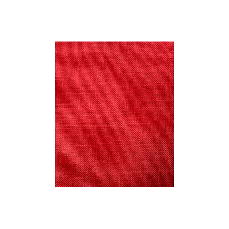 Chemin de table rouge 28 cm x 5m for Chemin de table rouge