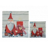 Serviettes de table Santa x20
