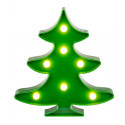 Sapin vert lumineux à LED