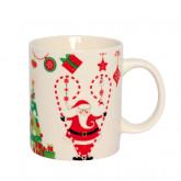 Mug Père Noël et sapin