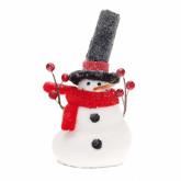 Bonhomme de neige déco 18 cm