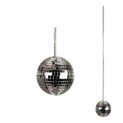 Collier boule à facette disco