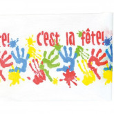 """Chemin de table """"C'est la fête"""""""