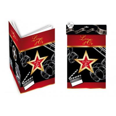 """Livre d'or cinéma """"La star du jour"""""""