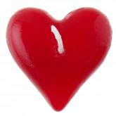 Bougie flottante coeur rouge (x2)