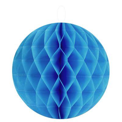 Boules décoratives alvéolées MM (x2) turquoise