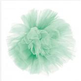 Grande boule de tulle vert menthe