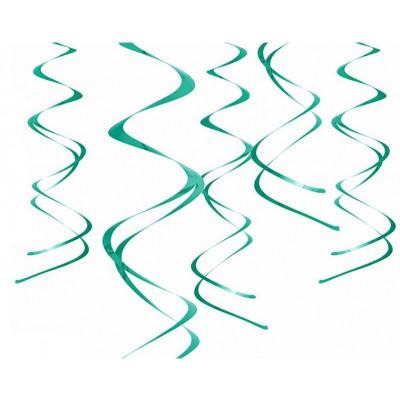 Suspensions spirales (x5) vert
