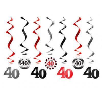 Suspensions spirales (x7) âge 40