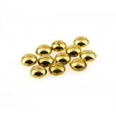 Perles de pluie métallisées or