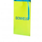 Cartons à vœux vert anis (x6)