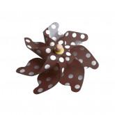 Pinces moulin à vent (x4) chocolat / blanc