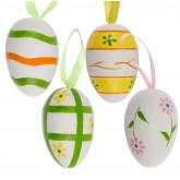 Oeufs de Pâques à suspendre (x4)