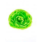 Fleurs glamour vert anis (x2)