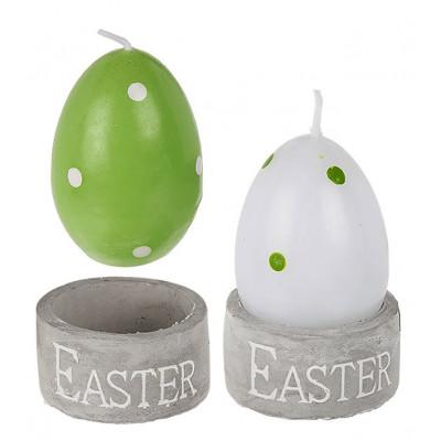 Bougie oeuf de Pâques