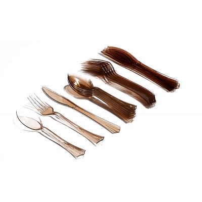 Ménagère estivale (x18) chocolat