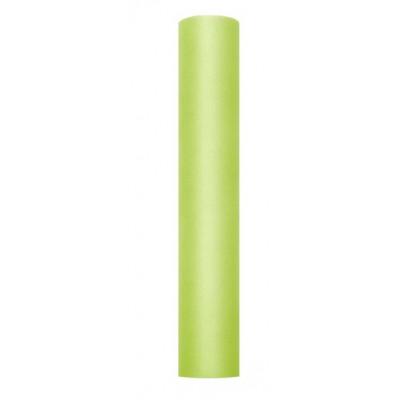 Bande de tulle L.15 cm vert anis