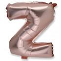 Ballon lettre Z rose gold