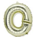 Ballon lettre O or
