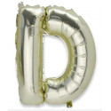 Ballon lettre D or