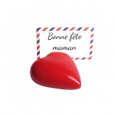Coeur marque place rouge