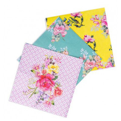 Assortiment de serviettes Tea Time x18