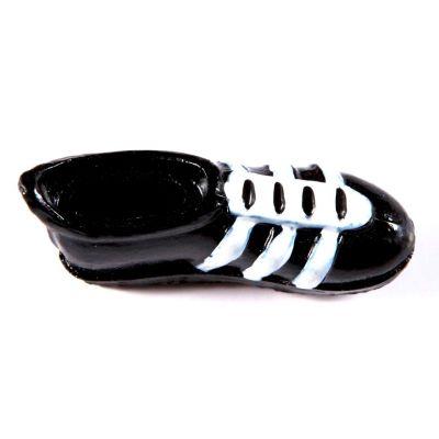 Chaussures de foot sur stickers x8 noir / blanc
