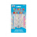 Bougie led clignotante chiffre 8