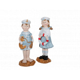 Couple figurine marin