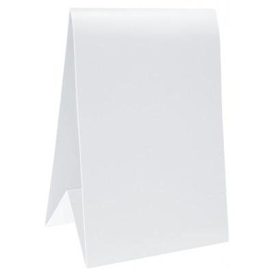 Marque table blanc ( x 6 )