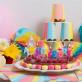 Bougies joyeux anniversaire multicolor
