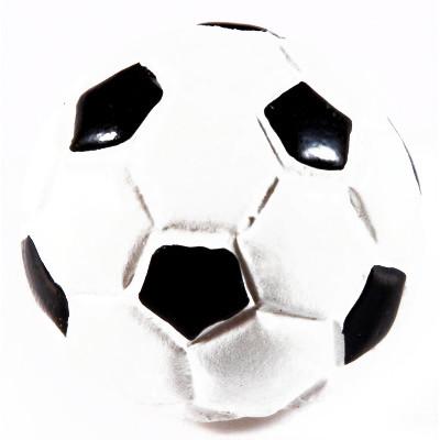 Demi-ballons de foot sur stickers (x6) blanc / noir