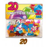 Confettis 20 ans multicolore