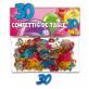Confettis 30 ans multicolore