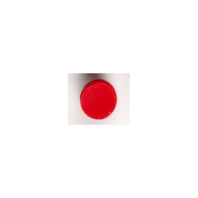 Confettis ronds non tissés (x100) rouge