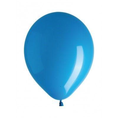 10 ballons déco bleu