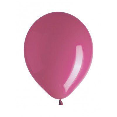 10 ballons déco fuchsia